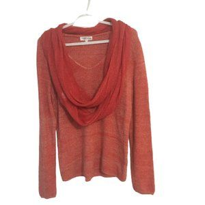 Northern Reflections V neck lace top with Scarf M
